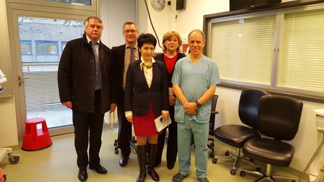 Российское научное медицинское общество терапевтов в составе делегации Минздрава РФ посетило медицинские центры Германии
